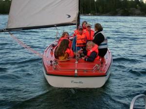 Jolle segling